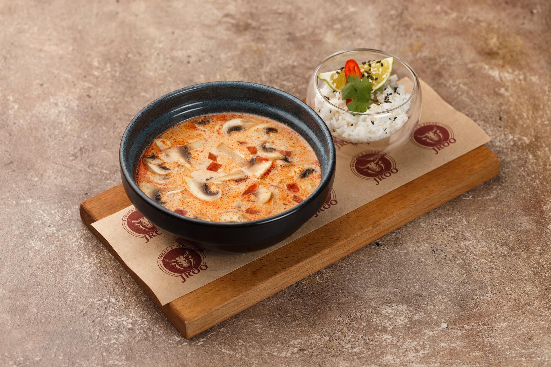 Доставка Пикантный тайский суп