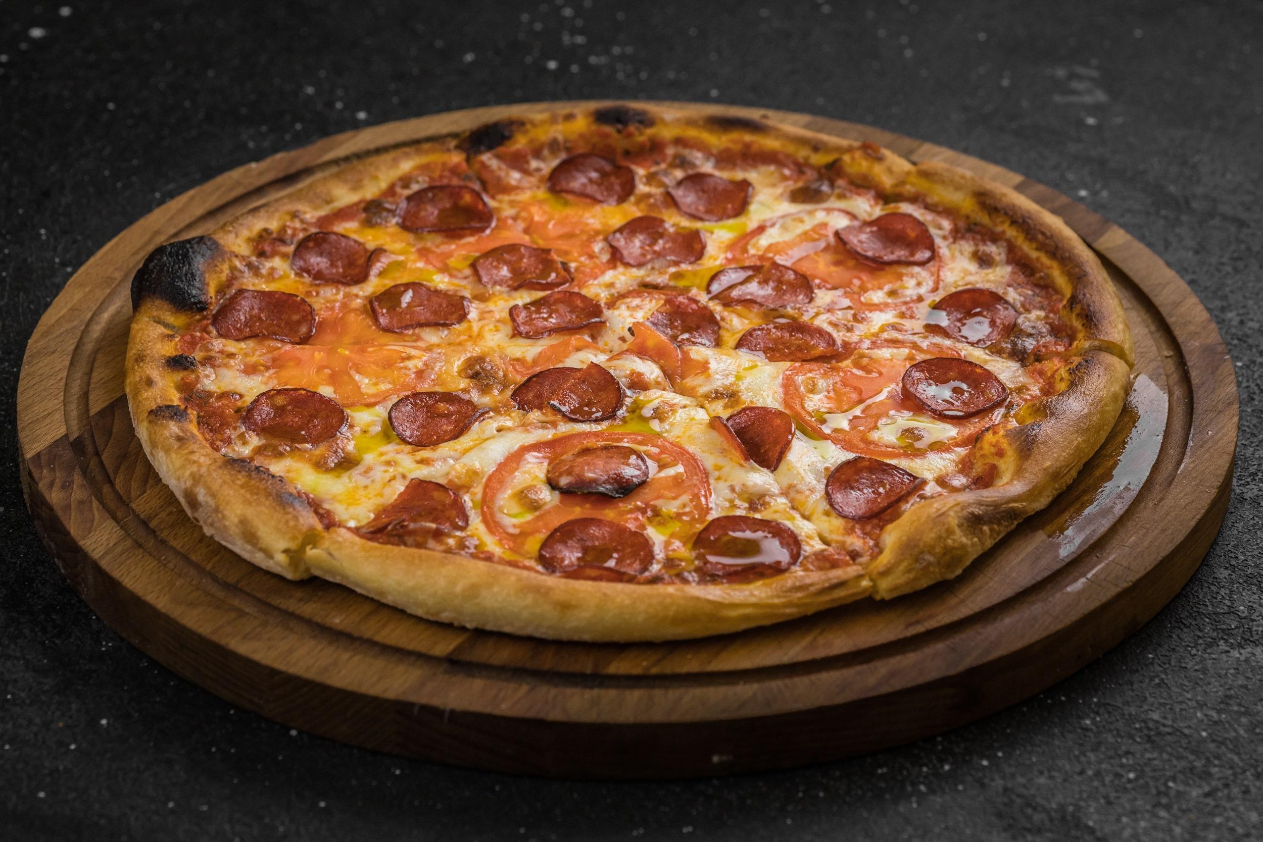 Доставка Пицца с чоризо (33см)