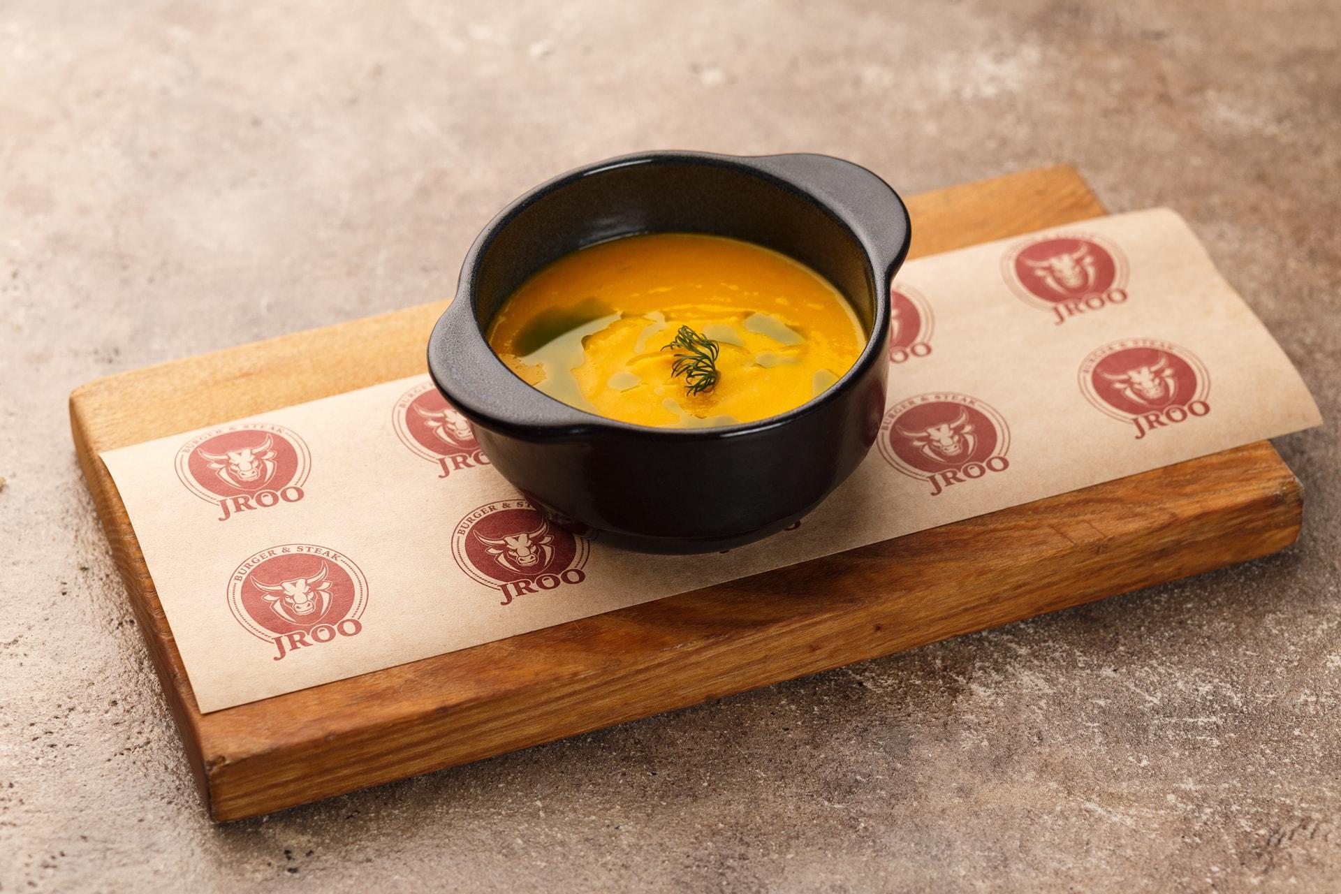 Доставка Крем-супчик овощной на курином бульоне с сыром моцарелла