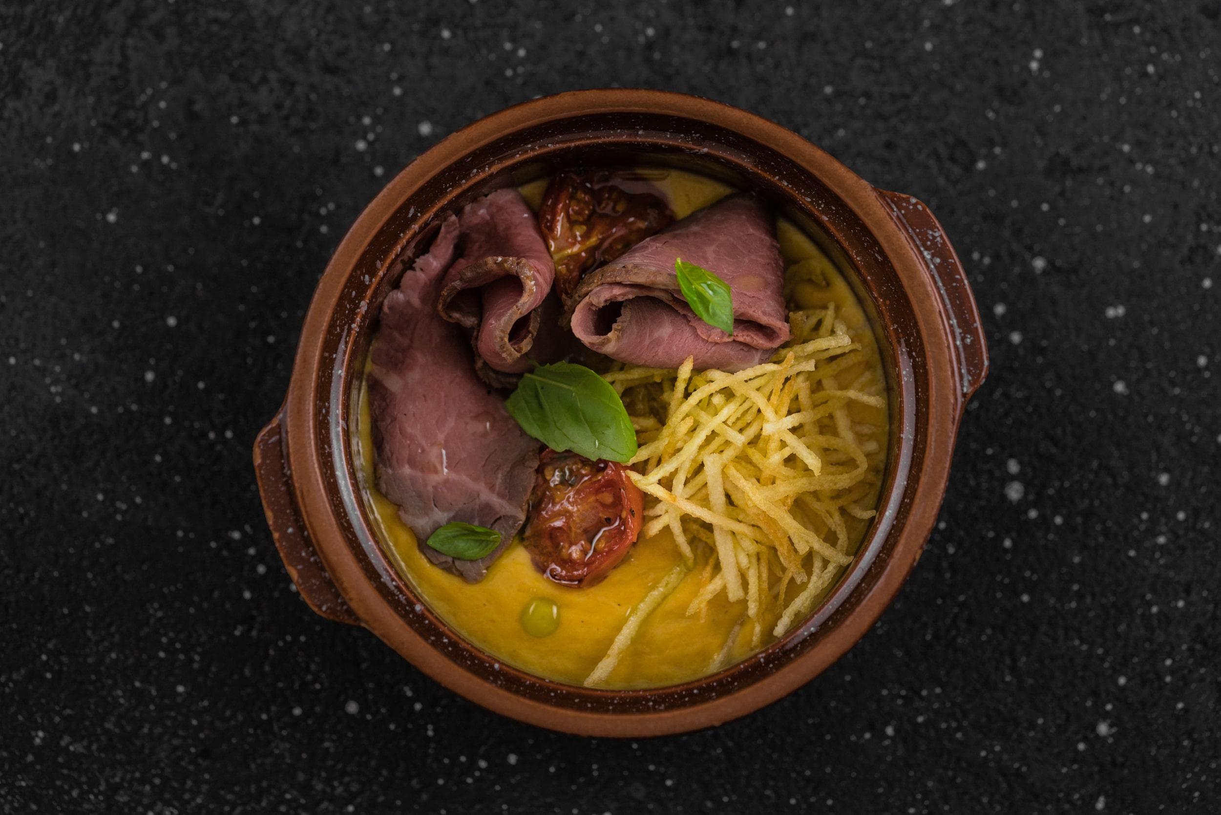 Доставка Нежный крем-суп из овощей